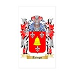 Rainger Sticker (Rectangle 50 pk)