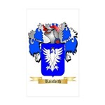 Rainforth Sticker (Rectangle 50 pk)