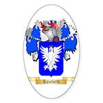 Rainforth Sticker (Oval 50 pk)