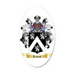 Raines Oval Car Magnet