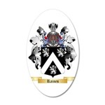 Raines 35x21 Oval Wall Decal