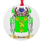 Rainals Round Ornament