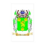 Rainals Sticker (Rectangle 50 pk)