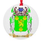 Rainaldis Round Ornament