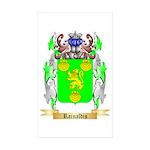 Rainaldis Sticker (Rectangle 10 pk)