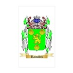 Rainaldis Sticker (Rectangle 50 pk)