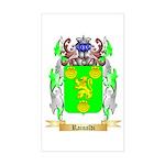 Rainaldi Sticker (Rectangle)
