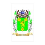 Rainaldi Sticker (Rectangle 50 pk)