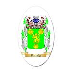 Rainaldi 35x21 Oval Wall Decal