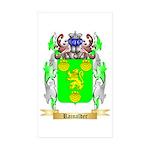 Rainalder Sticker (Rectangle 50 pk)
