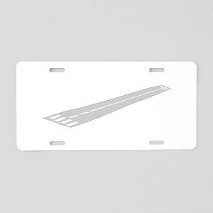 Airport Runway Aluminum License Plate