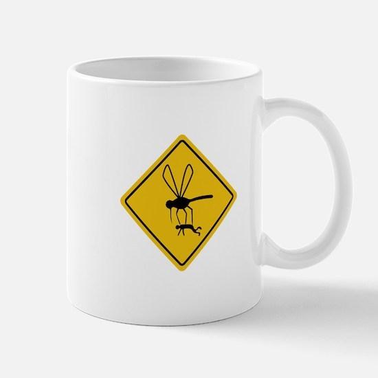 Mosquito hazard Mugs