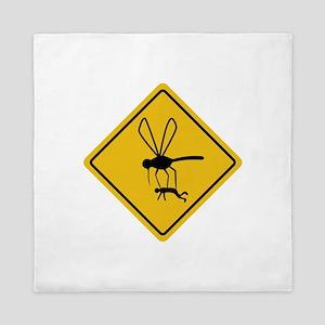 Mosquito hazard Queen Duvet