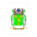 Rainaldcucci Sticker (Rectangle 50 pk)