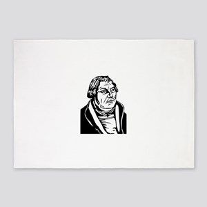 Martin luther 5'x7'Area Rug