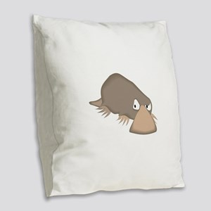 Platypus Burlap Throw Pillow