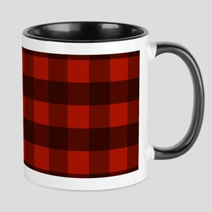 Red Buffalo Plaid Mugs