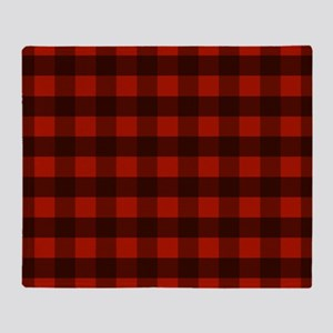 Red Buffalo Plaid Throw Blanket