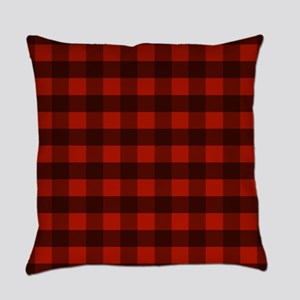 Red Buffalo Plaid Everyday Pillow