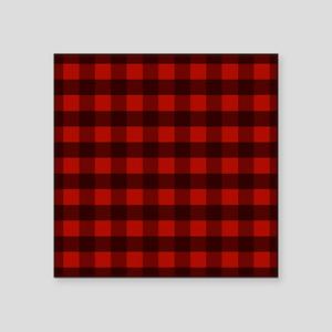 Red Buffalo Plaid Sticker