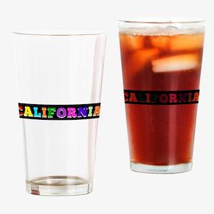 California Drinking Glass