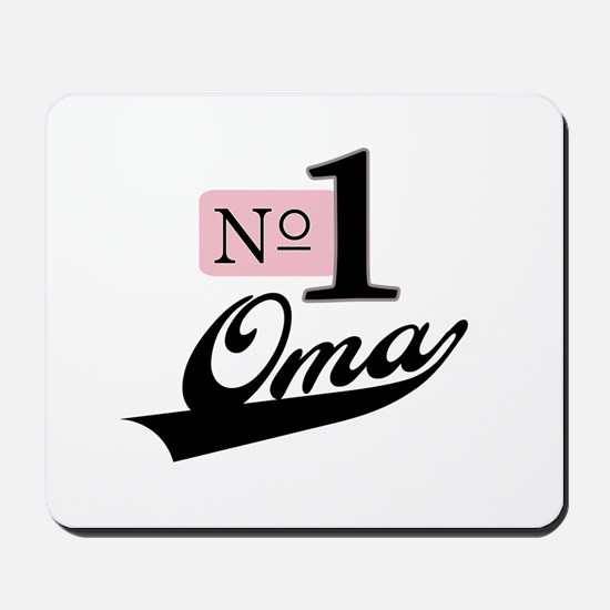 Number One Oma Mousepad