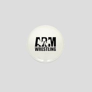Arm wrestling Mini Button