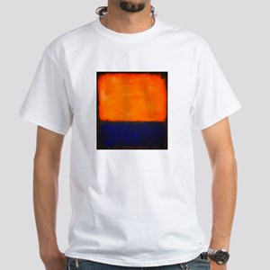 ROTHKO ORANGE AND BLUE T-Shirt
