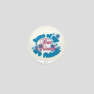 Flakes for Best Friends Mini Button