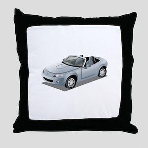 Cabriolet Throw Pillow