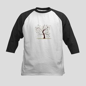 Curly Tree Design Baseball Jersey