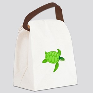 Green sea turtle Canvas Lunch Bag