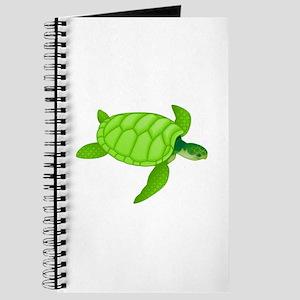 Green sea turtle Journal
