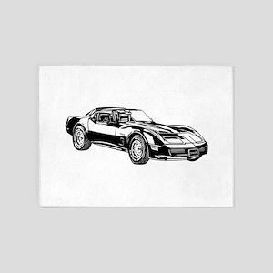 Dodge Viper 5'x7'Area Rug