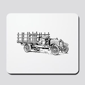 Old heavy truck Mousepad
