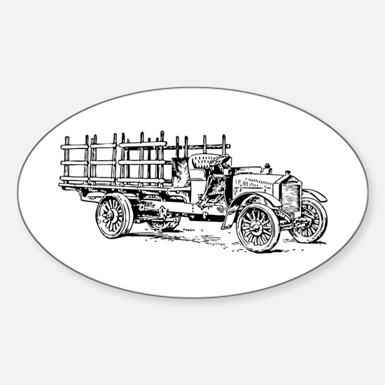 Old heavy truck Decal