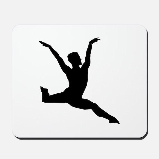 Ballet man Mousepad