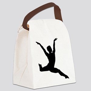 Ballet man Canvas Lunch Bag
