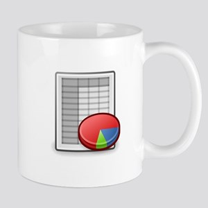 Office spreadsheet Mugs