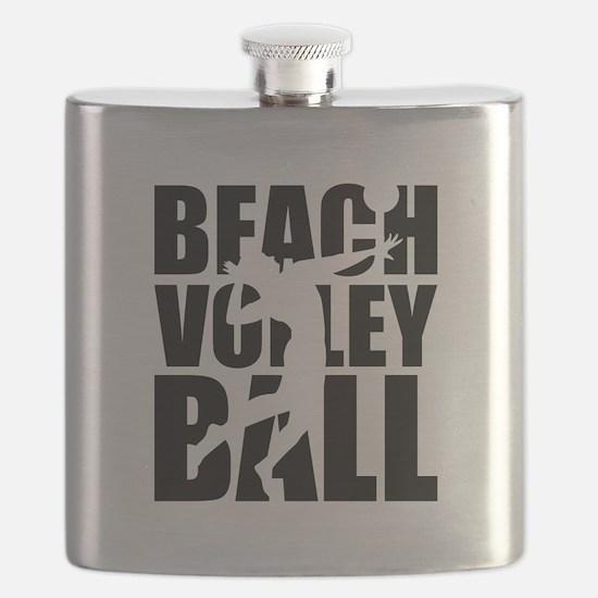 Beachvolleyball Flask