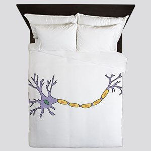 Neuron with axon Queen Duvet