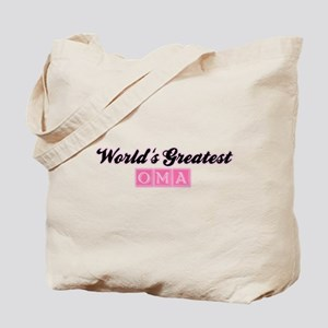World's Greatest Oma (2) Tote Bag
