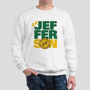 State of Jefferson - Cal. style w/ Gold Sweatshirt