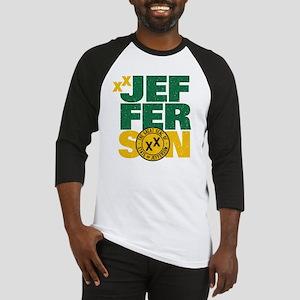 State of Jefferson - Cal. style w/ Baseball Jersey