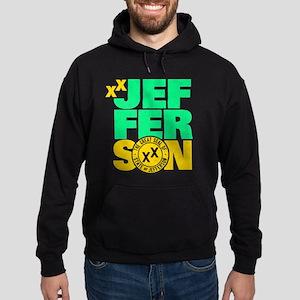 State of Jefferson - Cal. style w/ G Hoodie (dark)