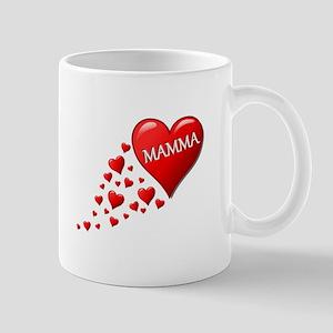 Mamma heart Mugs