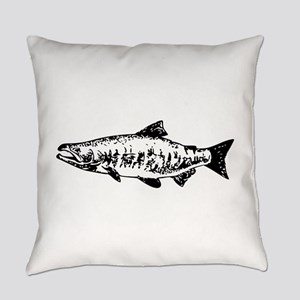 Salmon Everyday Pillow