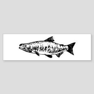 Salmon Bumper Sticker