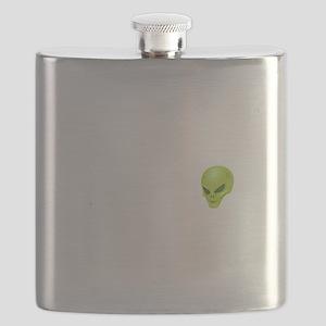 Alien Head Flask