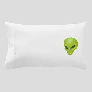 Alien Head Pillow Case